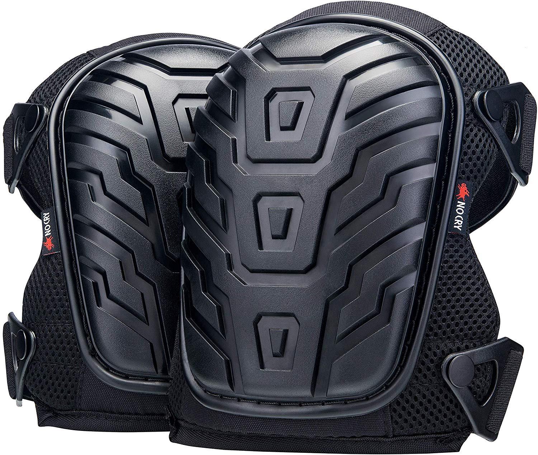 Knee Pads Safety Gear Tuff Shell EVA Foam Jobsite Contractor Work Lightweight