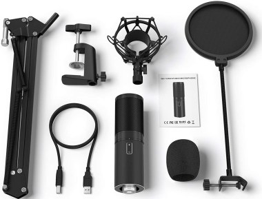 Tonor USB Microphone Kit Q9