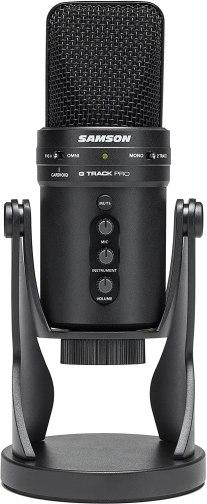samson G track pro professional usb condenser microphone