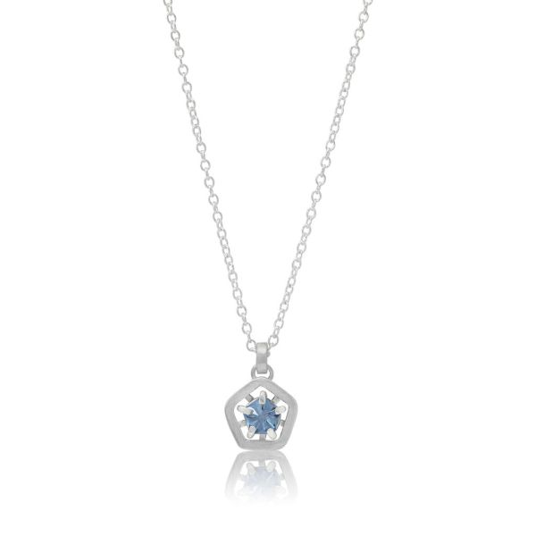 Hope simple pendant - light blue