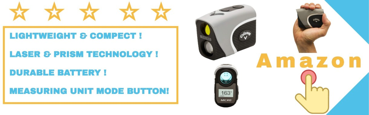 Callaway rangefinder includes