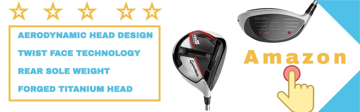 TaylorMade driver includes