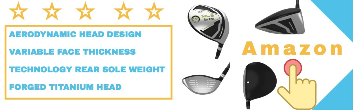 Tour edge driver includes