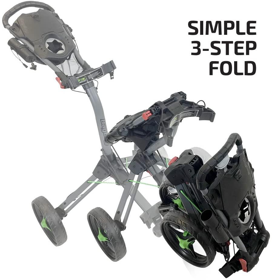 TriSwivel II push cart folding