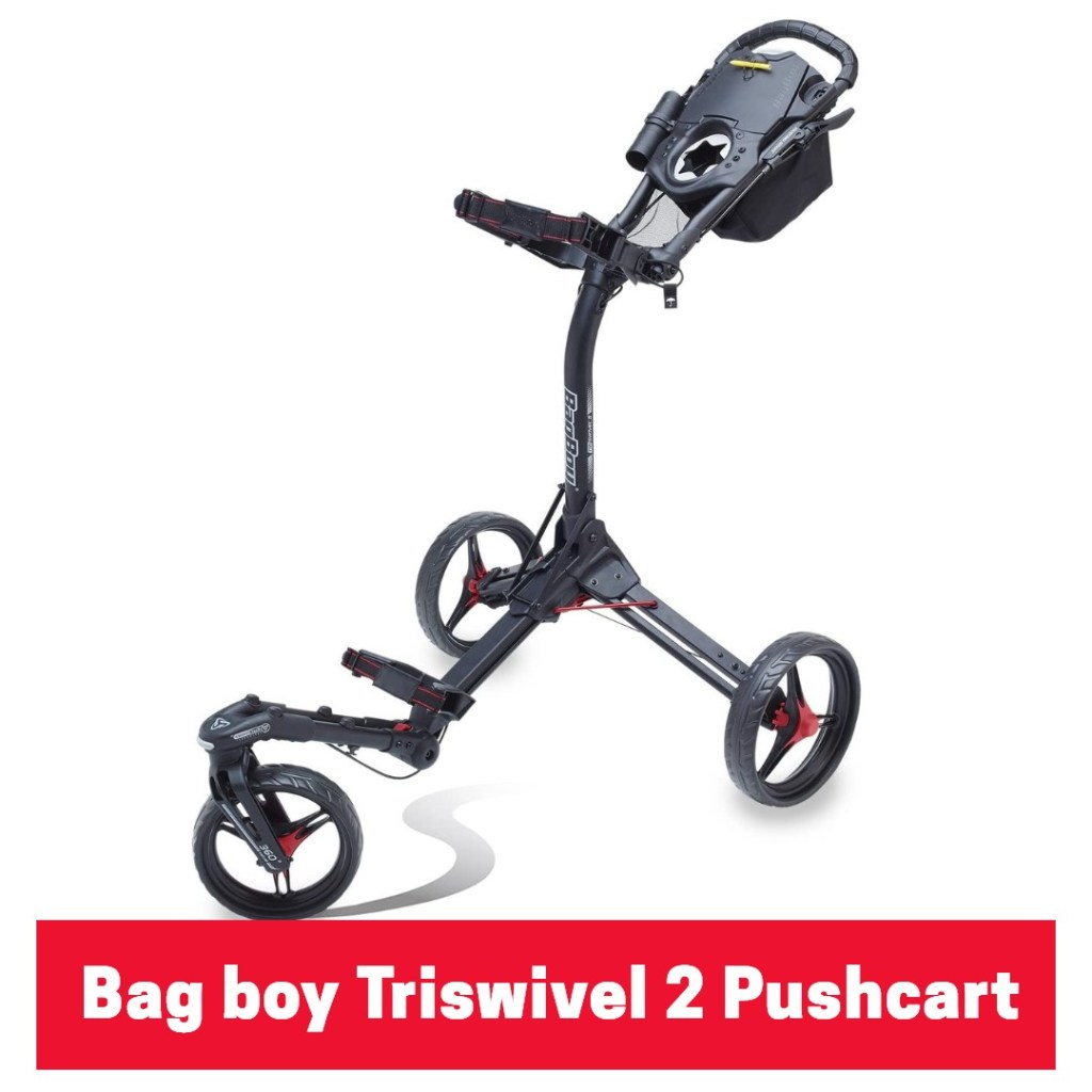 Bag boy Triswivel 2 push cart