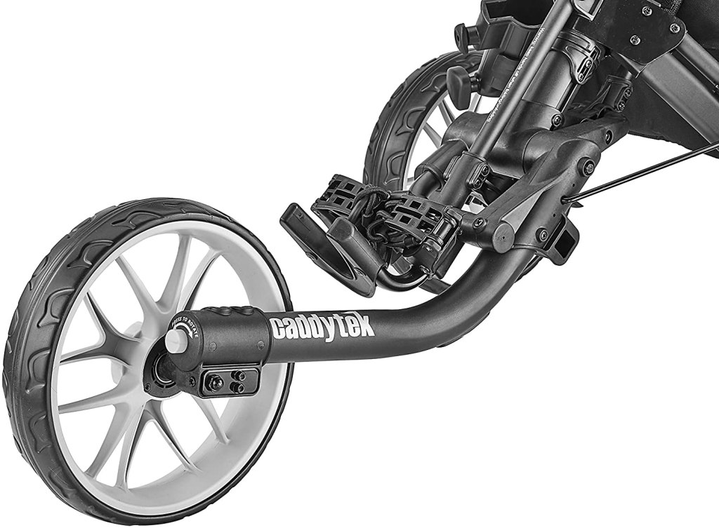 CaddyTek EZ-Fold 3-Wheel Golf push cart wheel