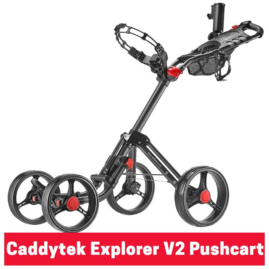 Caddytek explorer v2 golf pushcart