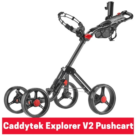 Caddytek explorer v2 golf pushcart