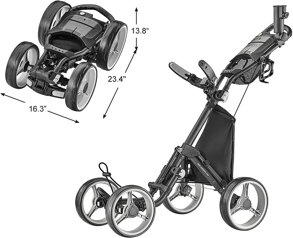 CaddyTek Explorer V8 push cart push