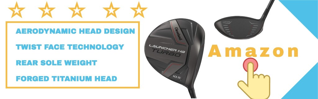 the Cleveland golf launcher turbo driver