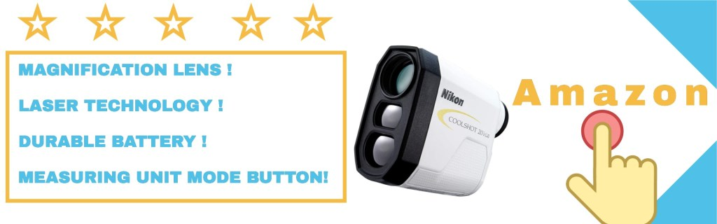 Nikon COOLSHOT 20i GII golf laser slope rangefinder from user experiences