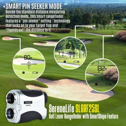 The SereneLife Golf Laser Rangefinder is the finest friend any golfer can have.