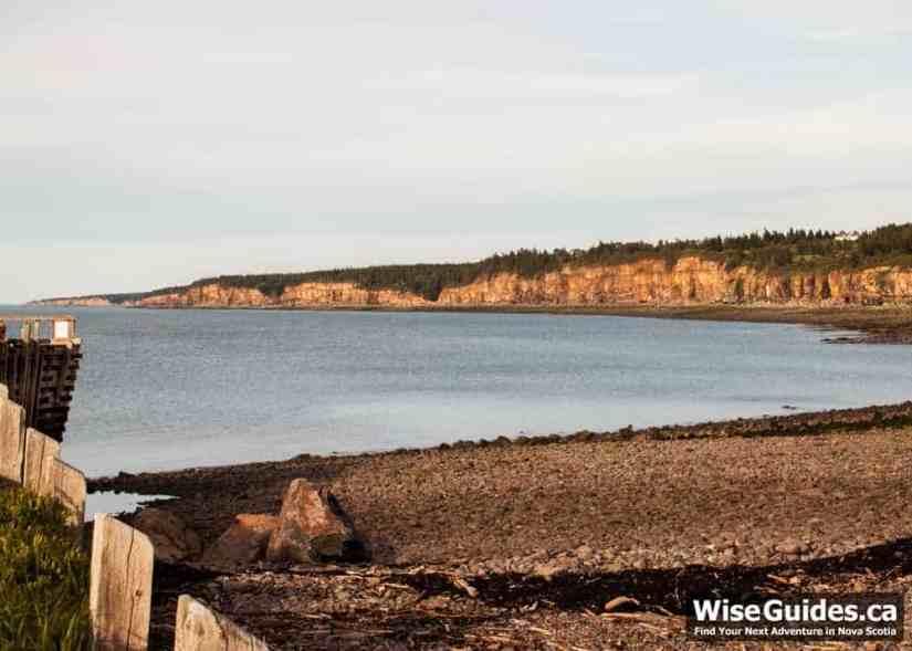 Margaretsville Beach, Nova Scotia