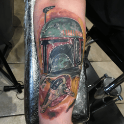Part of an ongoing star wars sleeve