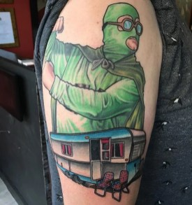 the green bastard trailer park boys tattoo