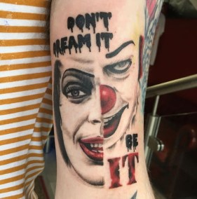 tim curry the rocky horror picture show it tattoo