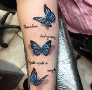 Butterfly Tribute piece