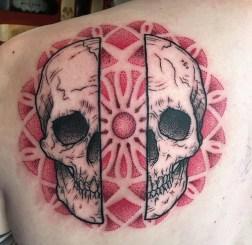 Geometric Skull piece
