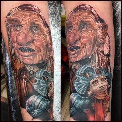 Hoggle and the worm
