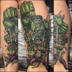 Bruce Banner and Hulk