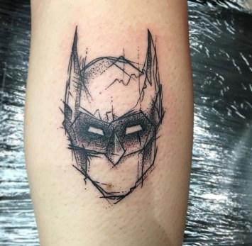 Sketchy Batman piece