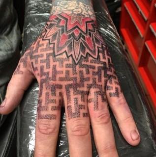 Geometric hand piece