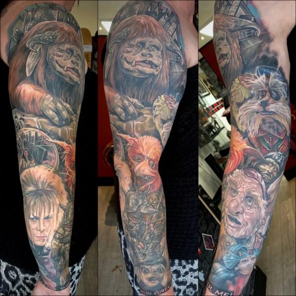 Movie tattoo