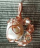 Amazonite and Citrine Beads Pendant