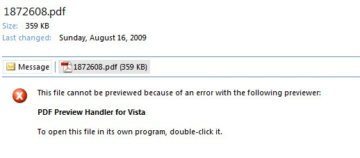 how to fix a pdf error