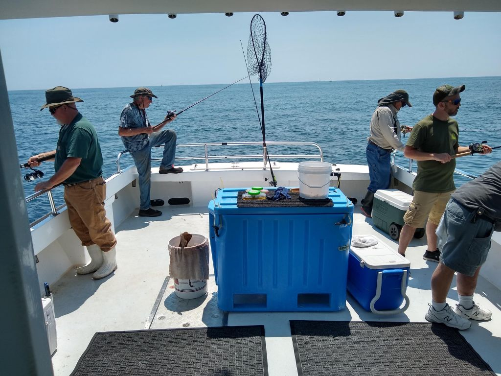 Fishing space galore on Laura Ann