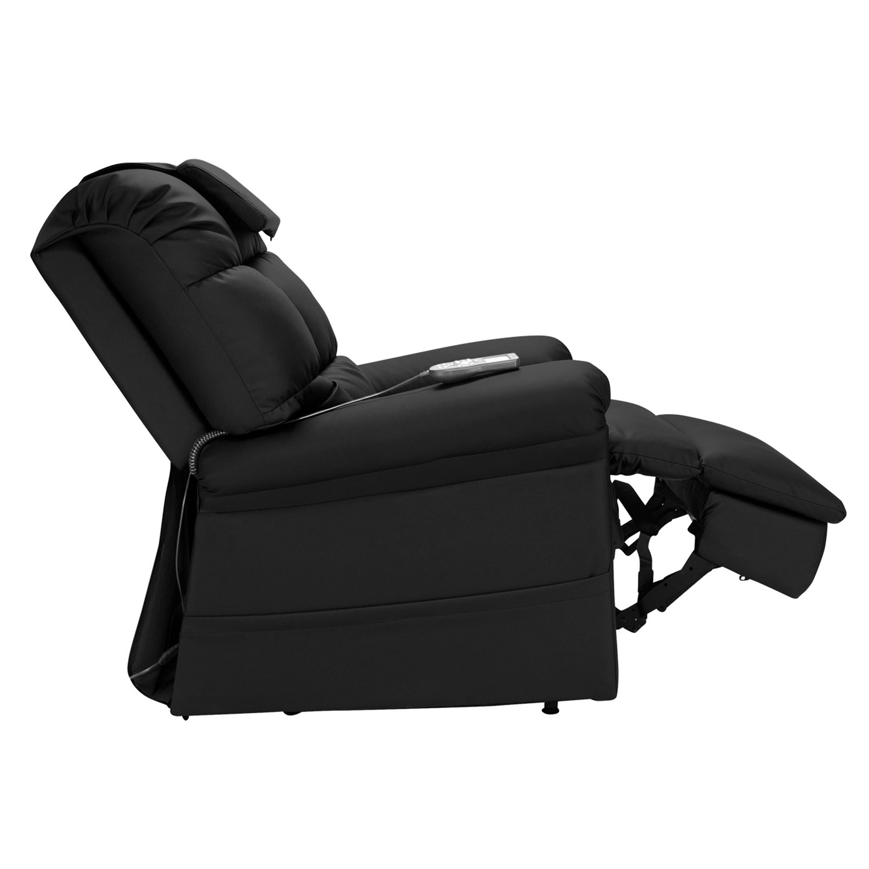 Wiselift 450 Sleeper Lift Chair Recliner Midnight Enduralux Leather Wiselift