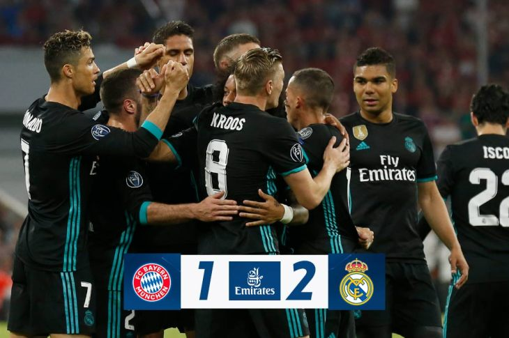 VIDEO: Bayern Munchen vs Real Madrid 1-2 – Highlights & Goals