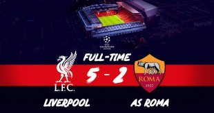 (VIDEO) Liverpool vs AS Roma 5-2 – Highlights & Goals