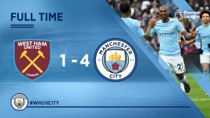 VIDEO: West Ham vs Manchester City 1-4 – Highlights & Goals