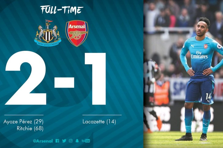 VIDEO: Newcastle vs Arsenal 2-1 – Highlights & Goals
