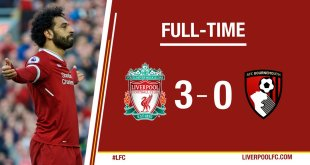 VIDEO: Liverpool vs Bournemouth 3-0 – Highlights & Goals