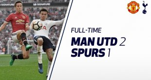 VIDEO: Manchester United vs Tottenham 2-1 – Highlights & Goals