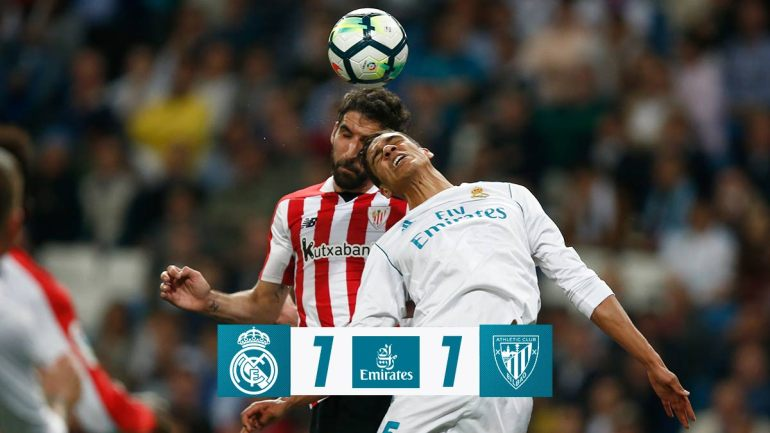 VIDEO: Real Madrid vs Athletic Club 1-1 – Highlights & Goals