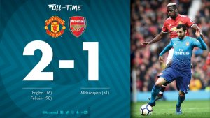 VIDEO: Manchester United vs Arsenal 2-1 – Highlights & Goals