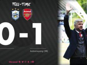 VIDEO: Huddersfield vs Arsenal 0-1 – Highlights & Goals