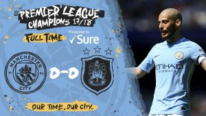 VIDEO: Manchester City vs Huddersfield 0-0 – Highlights