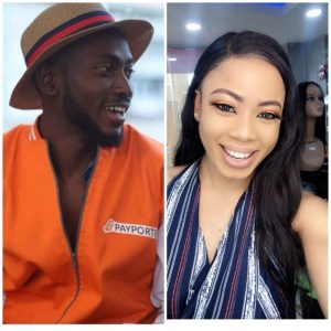 #BBNaija: Nina Just Got New Tattoos With Miracle's Name On Her Hand (Photos)