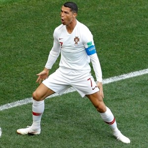 #2018WorldCup: Cristiano Ronaldo Tells Story Behind New 'Goatee' Goal Celebration After Scoring