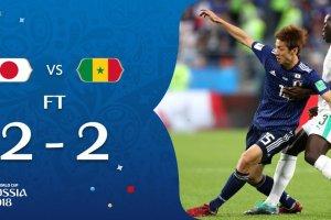 VIDEO: Japan 2 vs 2 Senegal (2018 World Cup) – Highlights & Goals