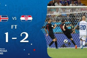 VIDEO: Iceland 1 vs 2 Croatia (2018 World Cup) - Highlights & Goals
