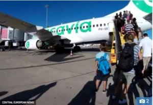 Plane Makes Emergency Landing After Passenger's Body Odour Caused Others To Vomit And Faint