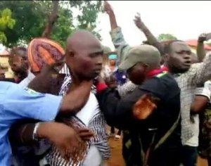 VIDEO: APC Lawmakers Beaten Mercilessly By Angry Mob In Kaduna State For This Shocking Reasons