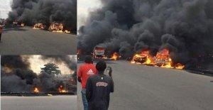 #TankerExplosion: Atiku, Don Jazzy, Davido, Reekado Banks, Runtown, Others Reacts