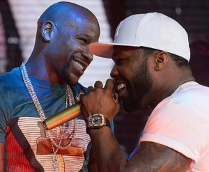 'I've Be Wanting To Kill That Fool But He's My Little Brother' – 50Cent Comes For Floyd Mayweather Again