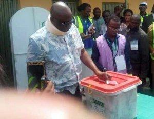 #EKITIDECIDES: PDP Wins Fayose's Polling Unit